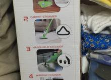 عدد 2 مكنسة بخارية للتلميع نظافة فائقة