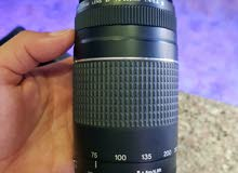 كاميرا كانون 1100D مع عدسه اضافية