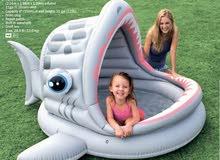 بركة سباحة للأطفال مع مظلة للغطاء Intex 57120