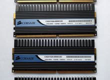رام CORSAIR DOMINATOR — 4GB Dual Channel DDR2