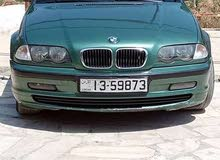 Green BMW 318 1999 for sale