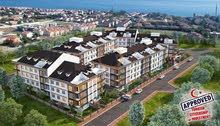 شقة (3 غرف, 2 حمامين) باطلاله على شاطئ البحر مع منطقة سبا و شرفة في اسطنبول بيه ليكدوزو
