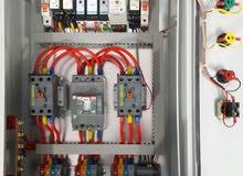 عمل وتنفيذ بوردات السيطرة الكهربائية كافة