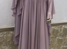 فستان مستعمل لبسة واحدة
