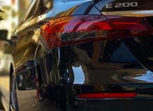 مرسيدس E200 لخدمة رجال الأعمال والاخوه العرب وتوصيل المطار