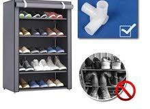 Shoes Organizer Rack Grey 90x60x30centimeter