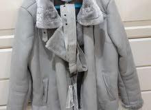 grey winter jacket for sale