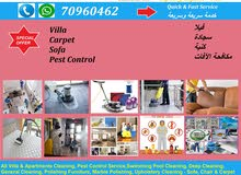A Complete cleaning, Sanitizer and Pest control Services