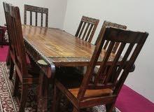 طاولة طعام 6 أشخاص