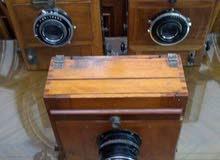 كاميرا الخواجه هاجوب ناصبيان كاميرا منفاخ  خشب حاله متحفيه نادره  فعلا استخدام خ