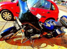 هوندا شادو 750cc موديل 1996 واجهة هارلي وزوايد هارلي