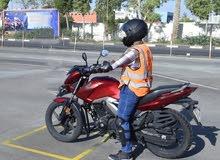 الدورة الصيفية لتعليم قيادة الدراجة الناريه والتأهيل للإختبار لرخصة الدراجة الناريه