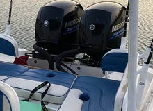 Ocean boat 28ft like a new with twin Mercury four stroke engines