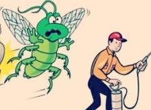 مكافحة الحشرات بأقل الأسعار تنظيفات عامه ومكافحه