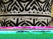 كمة عمانيه لون اسود نادر نجم كامل