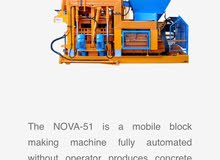 nova 51 block machine