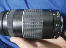 كاميرا كانون 1100d مع عدستين وترايبود
