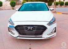 White Hyundai Sonata 2018 for sale