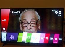 شاشة LG smart tv اصلية 55 بوصه