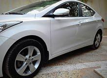For sale 2013 White Elantra