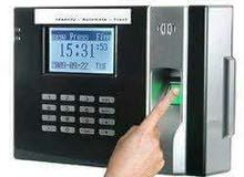 جهاز بصمه لتسجيل الدخول وخروج الموظفين