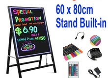 LED Writing board with stand (80*90)