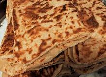 فطيرة مغربية خبز تركي خبز الصاج