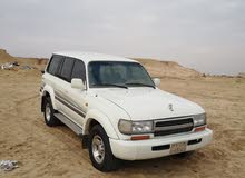 Toyota Land Cruiser 1997 For sale - White color