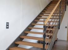 صنع وتركيب وصيانة الدرج ESCALIERS
