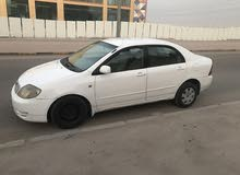 2003 Used Corolla with Automatic transmission is available for sale