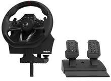 عجلة القيادة للألعاب ماركة هوري جديدة بالكرتون للبلاي ستيشن 3 و 4