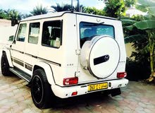 White Mercedes Benz G 55 2009 for sale
