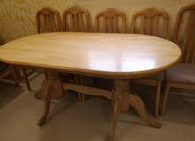 طاولة سفرة أنيقة مع 5 كراسي