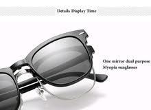 نظارات الشمس المستقطبة إطار +خمسة عدسات شمسيه =بلوايز حماية