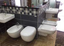 شورات ، اطقم حمامات ، اكسسوارات ، جاكوزي ، وكل توابع الحمام