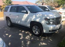 White Chevrolet Tahoe 2017 for sale