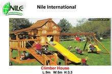 مجمعات خشبية للأطفال  للبيع