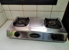 Hitachi two burner automatic stove used 2 months only