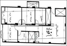 شقة تمليك 140م بالقرب من قصر الثقافة بالتقسيط على سنه من الوسيط العقارية بشبين الكوم