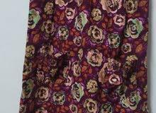 فستان حمالات قطيفة