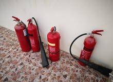 تمديد انابيب الغاز وصيانة طفايات الحريق ونظم الانذار