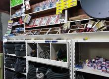 محل كهرباء مجهز بالكامل للبيع الزرقاء الجديدة حي الأمير محمد مقابل صيدلية الشحرو