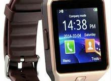 ساعة جوال ذكية اصلية رائعة ورخيصة يمكن ربطها بالجوال تستخدم جوال .جديدة