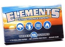 ورق لف Elements المنتس