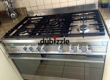 -Fisher and Paykel top gas oven electric cooker 90 by 60cm size