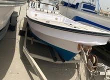 قارب اوشن ويف مجدد بالكامل مع مكينه ميركوري 250