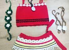 Moana crochet costume
