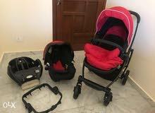 car seat + stroller + 2 bass  market graco like new