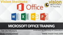 MS Office Courses at Vision Institute.