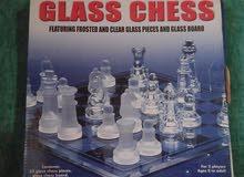 للبيع Glass Chess شطرنج من الزجاج